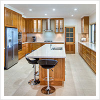 Feature Timber Kitchen
