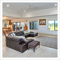 Open Plan Living with Raised Ceilings